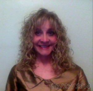 Cheryl Anne Groth Gold Silk Blouse