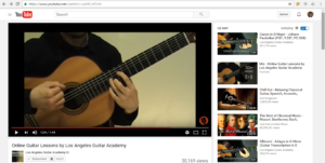 Los Angeles Guitar Academy Promotional Video and Tagline
