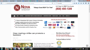 Nova Blog Article Creating a Tribe